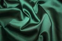 Атлас темно-зеленый