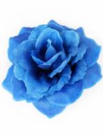 Голова розы шелк 5 сл. диам. 11 см