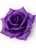 Голова розы шелк 4 сл. диам. 14 см