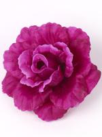 Голова розы шелк 4 сл. диам. 14,5 см