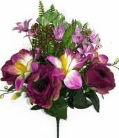 Букет роз с орхидеями 9 г. выс. 43 см