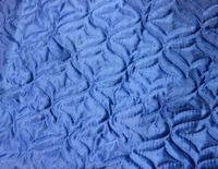 Термостежка атлас-сатин (синтепон 80 г/м) синий
