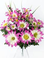 Букет хризантем с мелкоцветом 12 г. выс. 50 см