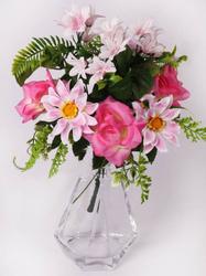 Букет хризантем с розами 9 г. выс. 36 см