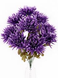 Букет хризантем игольчатых 9 г. выс. 53 см