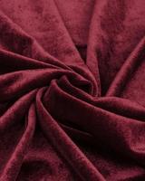 Бархат-стрейч бордовый