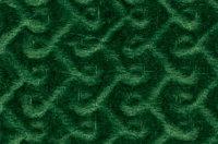 """Бархат-стрейч """"Рыбка"""" зеленый"""